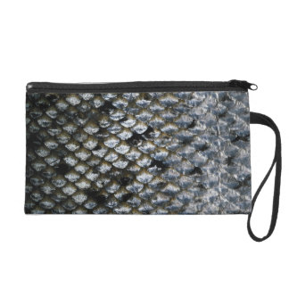Fish Scales Wristlet