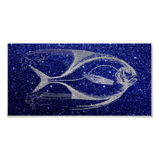 Fish Sea Ocean Life Blue Navy Beach Home