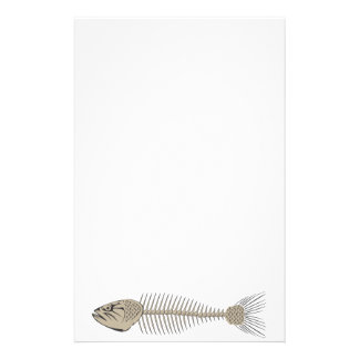 Fish Skeleton Stationery