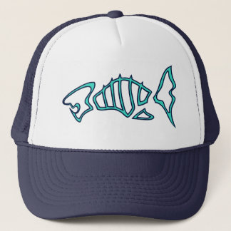 Fish Skeleton Trucker Hat