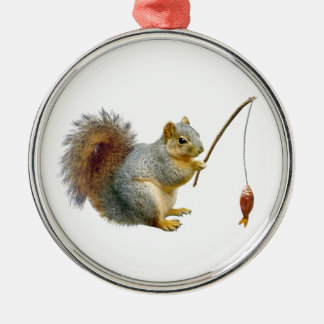Fish Squirrel Ornament