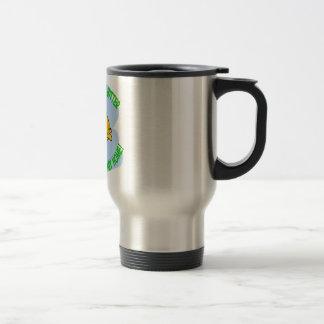 fish stainless steel travel mug