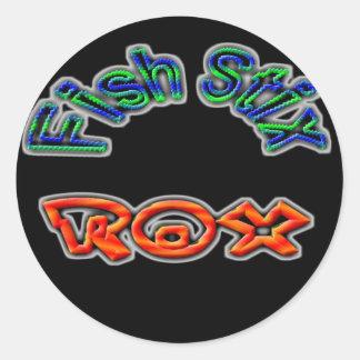 Fish Stix Rox! CCBC Fort Worth, TX Round Sticker