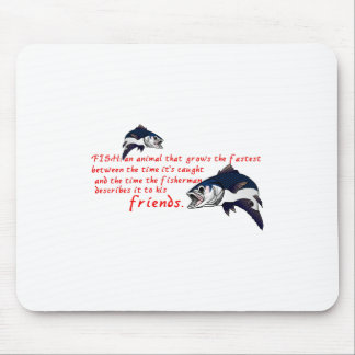 Fish Story Mouse Pad