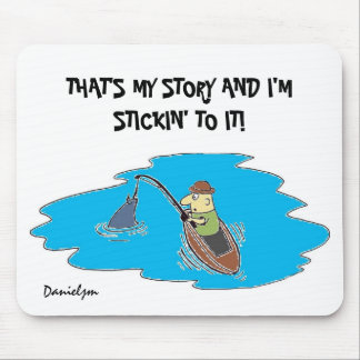 FISH STORY Mousepad