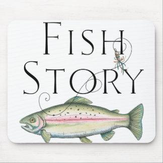 Fish Story Mousepad