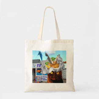 Fish supper shopping bag