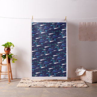 Fish Swimming in the See Fabric