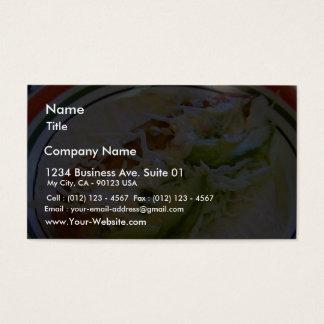 Fish Tacos Food Cabbage Tortillas Business Card