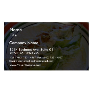 Fish Tacos Food Cabbage Tortillas Pack Of Standard Business Cards