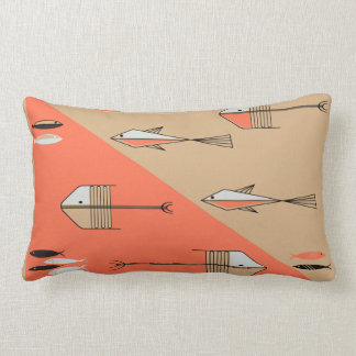 FISH TALE 2 American Mojo Pillow CORAL-SAND