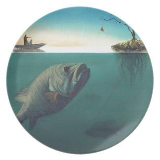 """Fish Tales"" Dinner Plates"