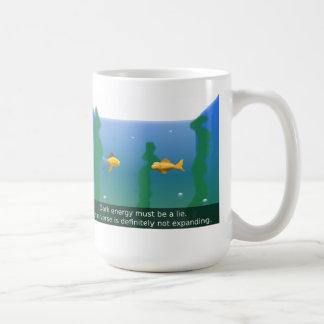 Fish Tank Basic White Mug