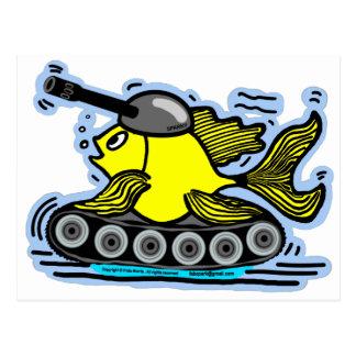 Fish tank postcard