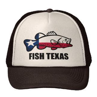 Fish Texas Cap