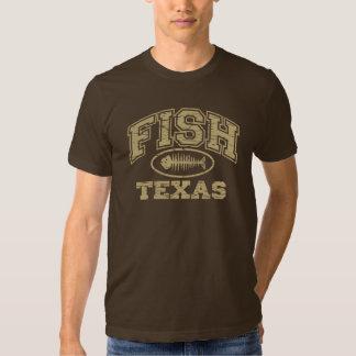 Fish Texas Tshirts