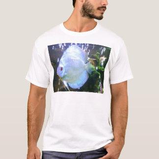 Fish Veiw Aquarian Blue T-Shirt