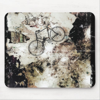 Fish vs Bicycle mouse pad