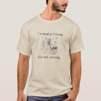 Fish vs fisherman T-Shirt