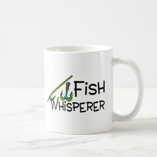 Fish Whisperer Basic White Mug