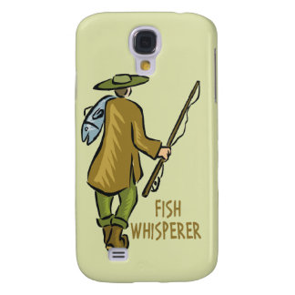 Fish Whisperer Fishing Galaxy S4 Case