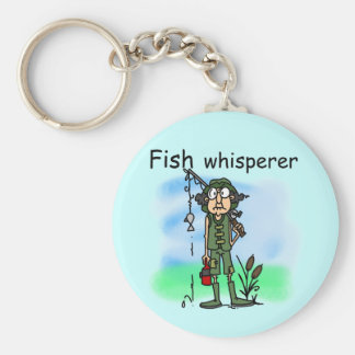 Fish Whisperer Key Ring