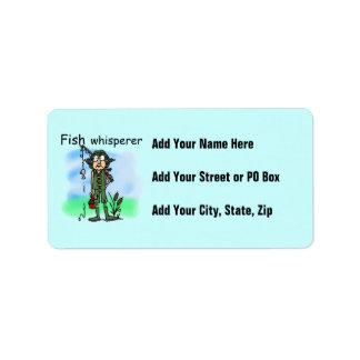 Fish Whisperer Address Label