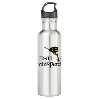 Fish Whisperer With Fishing Lure 710 Ml Water Bottle