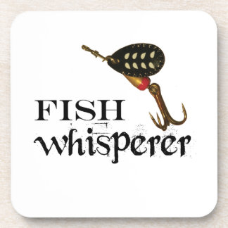 Fish Whisperer With Lure Coaster