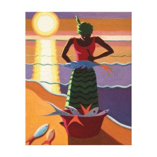 Fish Wife 2009 Canvas Print