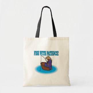 Fish With Patience Tote Bag