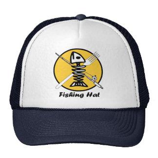 Fish with Rod-n-Reel / Fork - Watermeat Logo Cap
