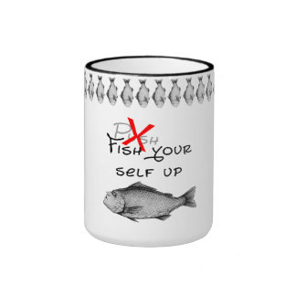 Fish yourself up ringer mug