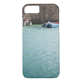 Fishboat in harbour Portugal iPhone 8/7 Case