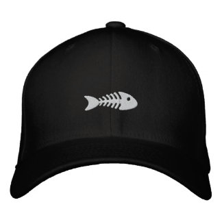 Fishbone Embroidered Hat