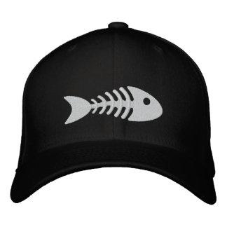 Fishbone Embroidered Hats