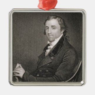 Fisher Ames, engraved by John Francis Eugene Prud' Christmas Ornament