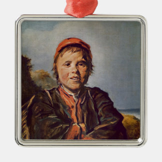 Fisher boy christmas ornament