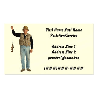 Fisher Pack Of Standard Business Cards