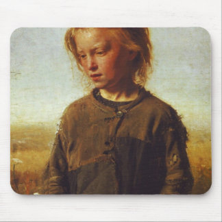 Fisher girl, 1874 mouse pad