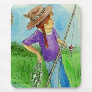 Fisher-Girlie Mouse Pad