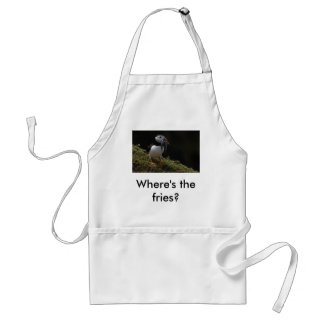 Fisher Puffin, Where's the fries? Standard Apron