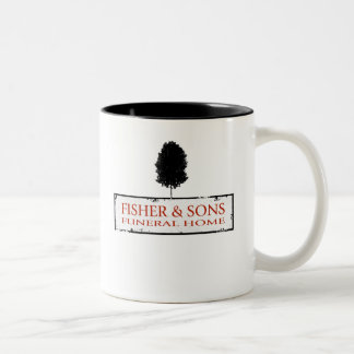 Fisher & Sons Funeral Home Two-Tone Mug