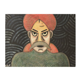 Fisherman by rafi talby Wood Canvases