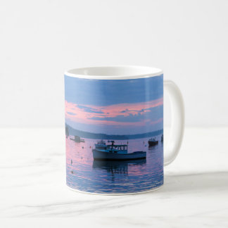 Fisherman dreamy sunset mug