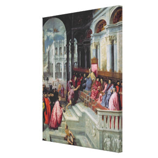 Fisherman Giving the Ring to the Doge of Venice Canvas Print