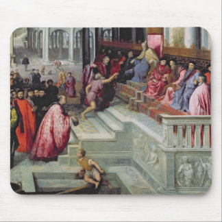 Fisherman Giving the Ring to the Doge of Venice Mouse Mat