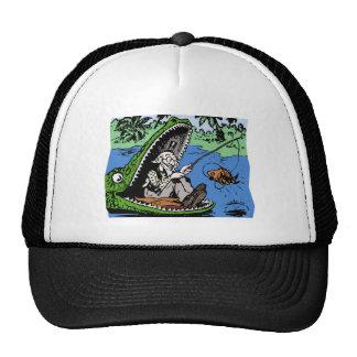 Fisherman in a Gator Cap
