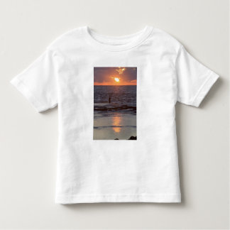 Fisherman in Byblos at sunset, Lebanon Toddler T-Shirt