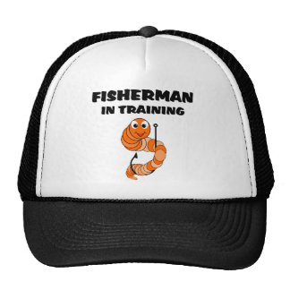 Fisherman In Training Cap